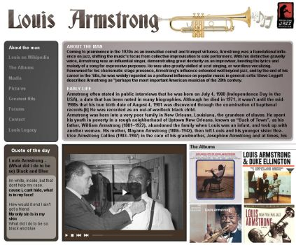 Louis Armstrong by ddhuck