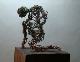 Finished Wire Sculpture by ianwh