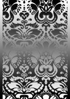 Damask Wallpaper Design - edit by Zilly-The-Jellyfish