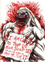 Monster POOP in your SOAP DISH by BaneNascent
