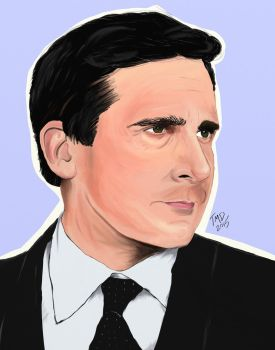 Steve Carell by breach-the-levee