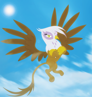 Gilda being Gilda by Elsdrake