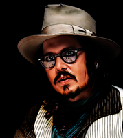 Johnny Depp Once More by donvito62