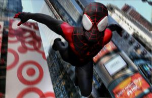 Ultimate Spider-man Miles Morales by tlmolly86