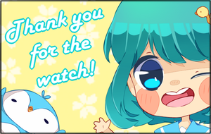 Thank You For Watchers2 by mamechii