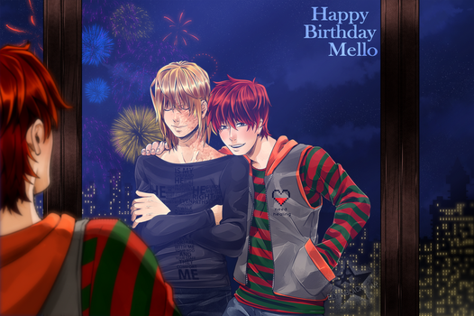 Happy Birthday Mello! by ElyonBlackStar
