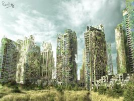 Matte-painting : Our Future by rodleg