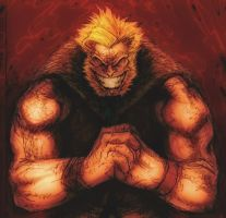 SABRETOOTH color by ericsuarez