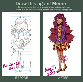 Corto - Draw This Again Meme by ImmediatelyAnnoying