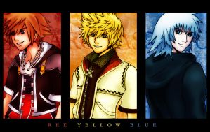 KH2: Red Yellow Blue by Audis