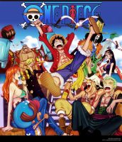 One Piece cover 61 by i-SANx