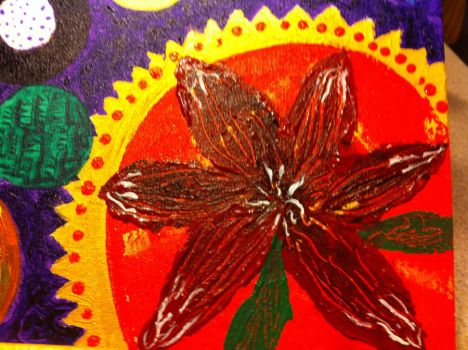 Detail-NET-firecracker lilly by patty-space