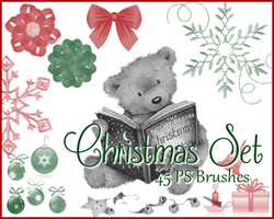 PS Christmas Brushes by Illyera