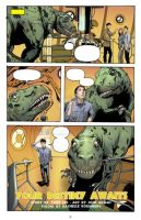 Doctor Who Annual Pg 01 color by whatwouldjoshdo