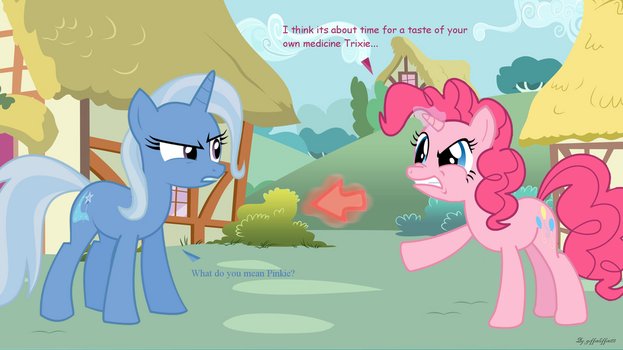 Pinkie Has Some New Talents.... by Geffenleffens