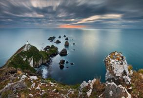 Nugget Point by mark-flammable