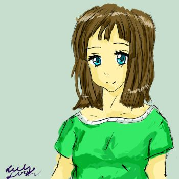 learning to use paint tool sai by MoonlitWanderer