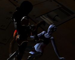 Defeated Asari by mememo