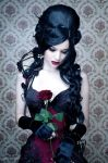 Every rose has its thorn by Annie-Bertram