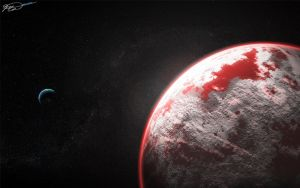 Bloody Ice Planet by x986123