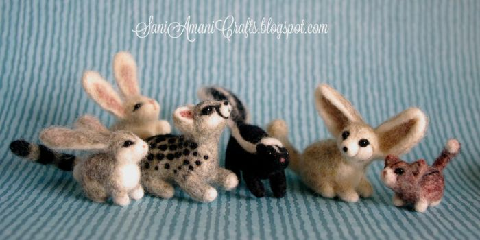 Needle felting SA by SaniAmaniCrafts