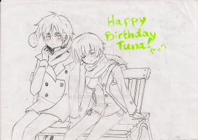 Tuna, it's your day! by tokithuy