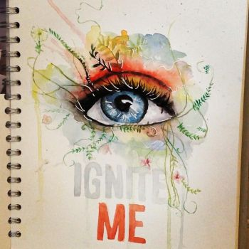 Ignite me by Tahereh Mafi by 12LucyJ34