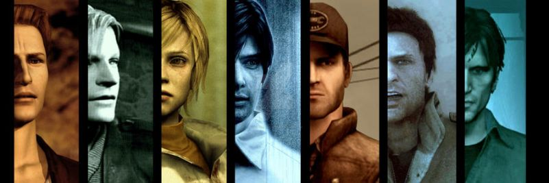 -THE SILENT HILL PROTAGONISTS- by rollerfan222
