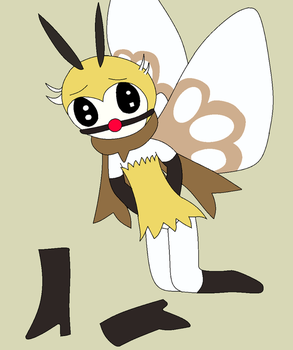 How To Outspeed Ribombee by didmaster999: Coloured by ThunderTheHedgehogIB