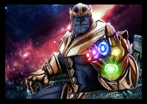 Thanos Poster by wallacedestiny