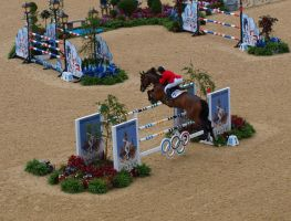 Olympics show-jumping 3 by TheManateePhotos