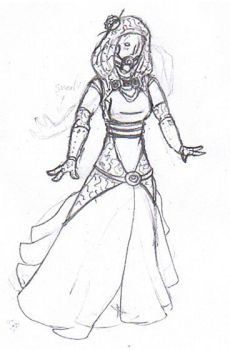 Tali Dress Sketch -updated- by DrivinG-GhosT