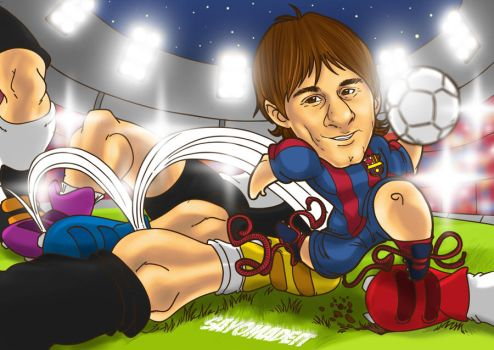 MESSI by SAYOMADEIT