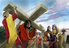 The road to crucifixion by prey47