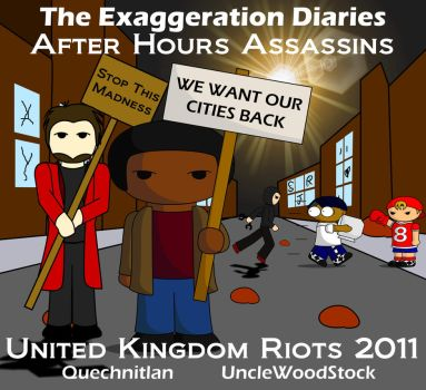 Uk Riots: A Call For Calm by Phyonix