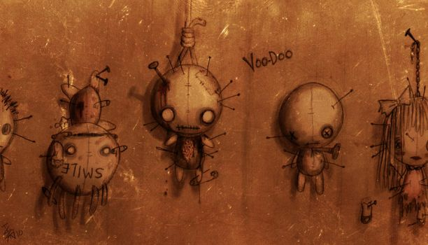 voo-doo by nocturnalMoTH