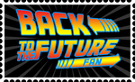 Back to the Future Fan Stamp by FantasyFlixArt