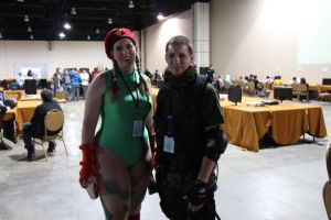 MAGFest 2013 - Cammy and Her Man by VideoGameStupid
