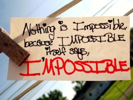 Impossible by 9atrigg