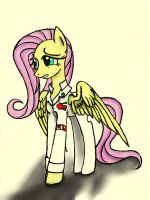 Fluttershy--The Ministry of Peace by LTH935
