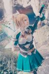 Leafa - Hollow Fragment by RomaiLee