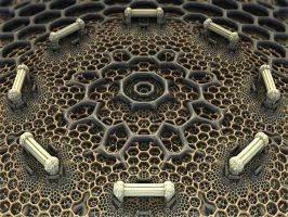 Honeycomb Hub by AureliusCat