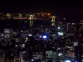Night View From Tokyo Tower 5 by theblindalley