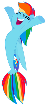 Sea Pony Dash Vector by GreenMachine987