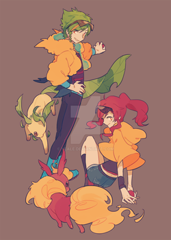 OCs by Yeale
