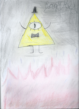 Bill Cipher Hell by fanpoop97