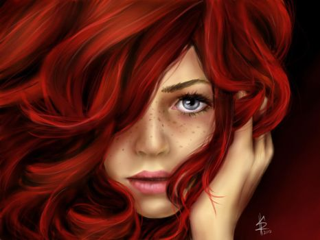 Red hair by zsuzsu12