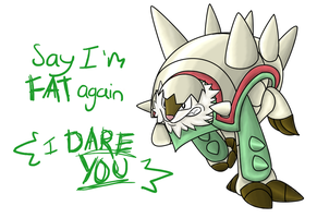 Chesnaught Charge by DarkShinyCharizard