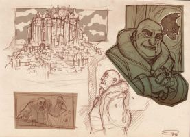 GOLEADOR - Knight President sketches 2010 by DenisM79