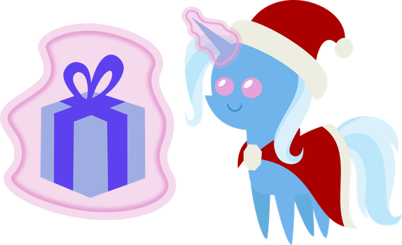 25 Days of Christmas Ponies- Day 5 Trixie by V0JELLY
